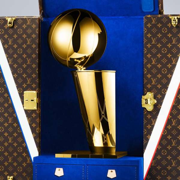 Louis Vuitton et la NBA réunis dans la même équipe